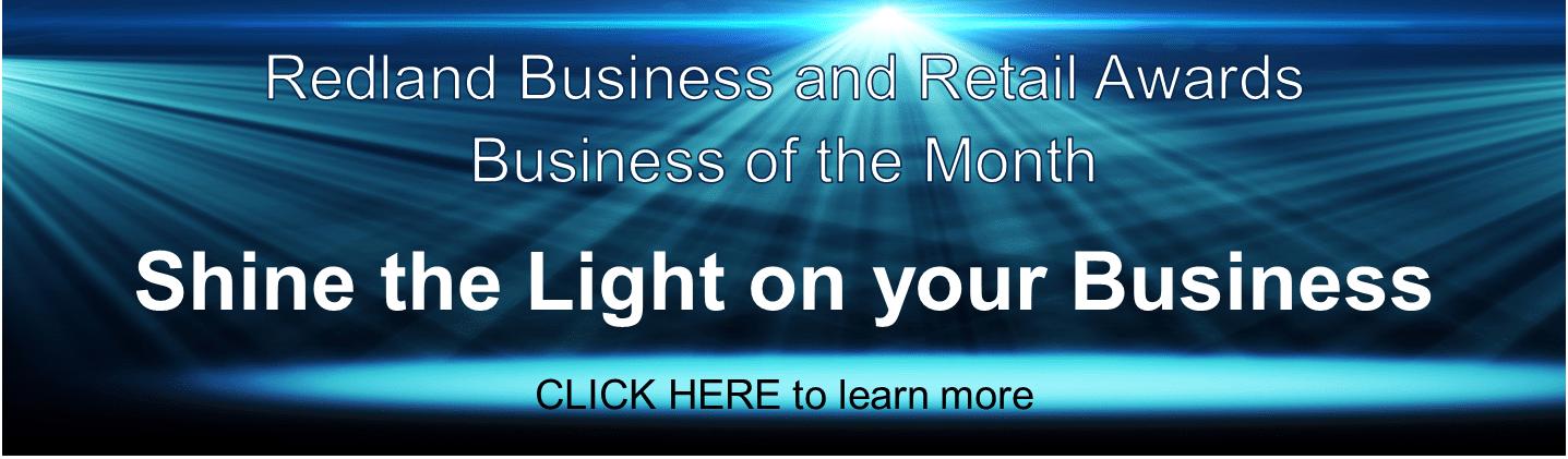 Redland Business Of The Month Award Winner